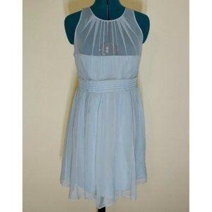 NWT Ann Taylor Teal 100% Silk Cocktail Dress
